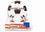 World Kick mini vibrerende voetbal, wit