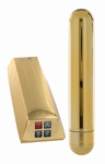 Pure Gold Excitement Vibe Vibrator, Medium